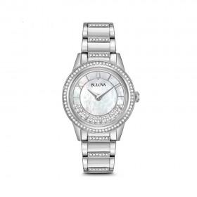 Дамски часовник Bulova Crystal Turnstyle - 96L257