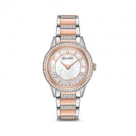 Дамски часовник Bulova Crystal Turnstyle - 98L246