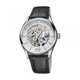 Мъжки часовник Oris Culture Artelier Skeleton - 734 7721 4051-07 5 21 61FC
