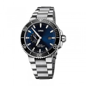 Мъжки часовник Oris Aquis Small Second Date - 743 7733 4135 - 07 8 24 05PEB
