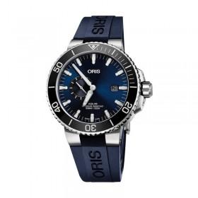 Мъжки часовник Oris Aquis Small Sec. Date - 743 7733 4135-07 4 24 65EB