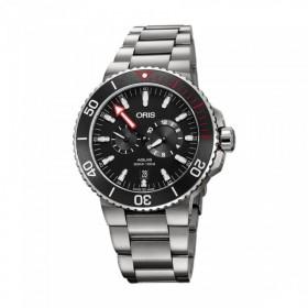 Мъжки часовник Oris Aquis Der Meistertaucher - 749 7734 7154 - Set + допълнителка каишка