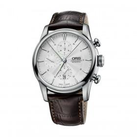 Мъжки часовник Oris ARTELIER CHRONOGRAPH - 774 7686 4051-07 5 23 70FC