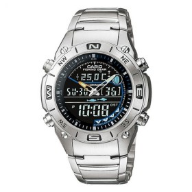 CASIO Fishing Gear Thermometer Watch AMW-703D-1A