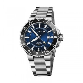 Мъжки часовник Oris Aquis GMT Date - 798 7754 4135-07 8 24 05PEB