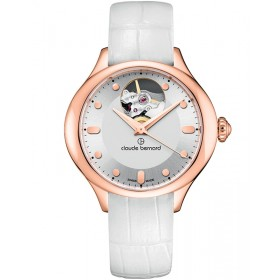 Дамски часовник Claude Bernard Dress Code Open Heart - 85027 37R AIR