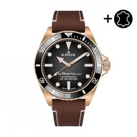 Мъжки часовник Edox Sky Diver Auto LE - 80115 BRZN NDR