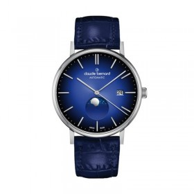 Мъжки часовник Claude Bernard Slim Line Automatic Moon Phase - 80501 3 BUIN