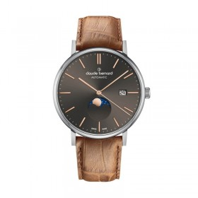 Мъжки часовник Claude Bernard Slim Line Automatic Moon Phase - 80501 3 GIR