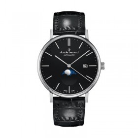 Мъжки часовник Claude Bernard Slim Line Automatic Moon Phase - 80501 3 NIN
