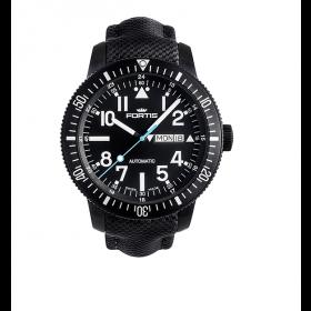 Мъжки часовник FORTIS Aquatis Diver Black - 647.18.41 LP.10