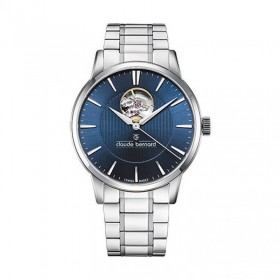 Мъжки часовник Claude Bernard Automatic Open Heart - 85017 3M2 BUIN
