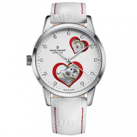 Дамски часовник Claude Bernard Auto Lady Open Heart - 85018 3 BPRON