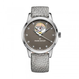 Дамски часовник Claude Bernard Automatic Open Heart - 85018 3 TAPN1