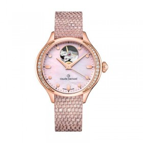 Дамски часовник Claude Bernard Dress Code Open Heart - 85027 37RP NARIR