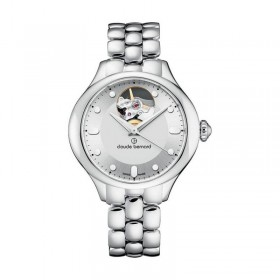 Дамски часовник Claude Bernard Dress Code Open Heart - 85027 3M AIN