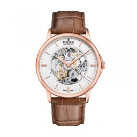 Мъжки часовник Edox Les Bemonts Open Heart - 85300 37R AIR