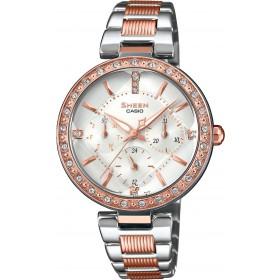 Дамски часовник Casio Sheen - SHE-3068SPG-7AUER
