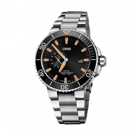 Мъжки часовник Oris Aquis Small Second Date - 743 7733 4159-07 8 24 05PEB