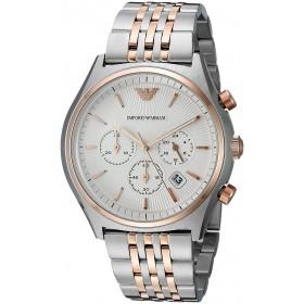 Мъжки часовник EMPORIO ARMANI ZETA Chronograph - AR1998
