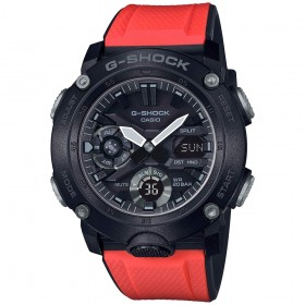 Мъжки часовник Casio G-Shock Carbon Core Red Structure Guard - GA-2000E-4ER