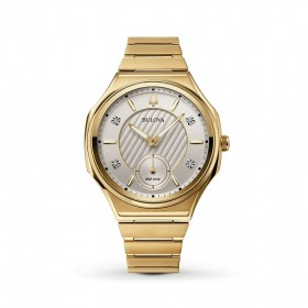 Дамски часовник Bulova CURV - 97P136