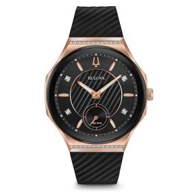 Дамски часовник Bulova Curv - 98R239