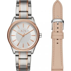 Дамски часовник Armani Exchange NICOLETTE - AX7103 + допълнителна кожена каишка