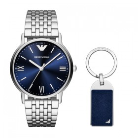 Мъжки часовник EMPORIO ARMANI KAPPA - AR80010 + подарък ключодържател