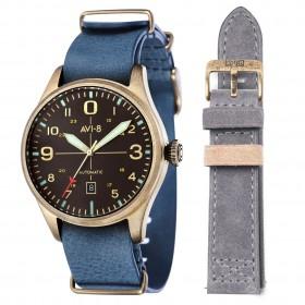 Мъжки часовник AVI-8 Flyboy - AV-4042-03 + допълнителна каишка