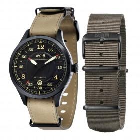 Мъжки часовник AVI-8 Hawker Hurricane - AV-4046-03 в комплект с допълнителна каишка от текстил