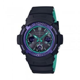 Мъжки часовник Casio G-Shock - AWG-M100SBL-1AER