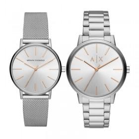 Сет от дамски и мъжки часовник Armani Exchange CAYDE - AX7112