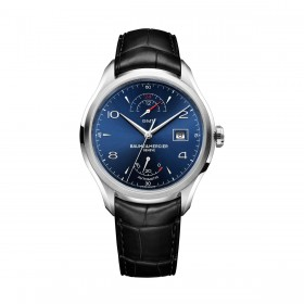 Мъжки часовник Baume & Mercier Clifton GMT Gangreserve - MOA10316