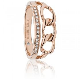 Дамски пръстен Fossil CLASSICS - JF03351791 160