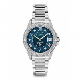 Дамски часовник Bulova Marine Star Diamond - 96R215