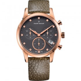Дамски часовник Claude Bernard Dress Code Lady Chrono - 10231 37R TAPR1