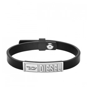 Мъжка гривна Diesel LEATHER/STEEL - DX1226040