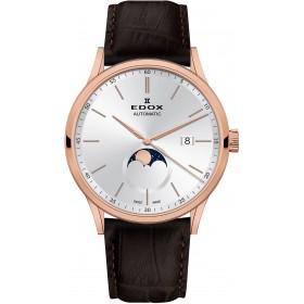 Мъжки часовник Edox Les Vauberts - 80500 37R AIR