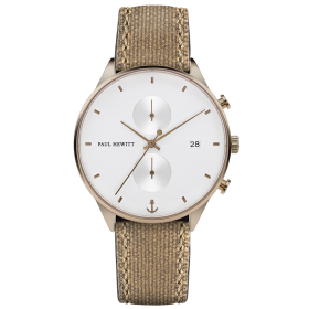 Мъжки часовник Paul Hewitt Chrono Line - PH-C-Br-W-47M