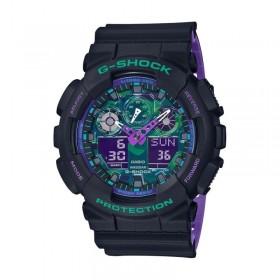 Мъжки часовник Casio G-Shock - GA-100BL-1AER