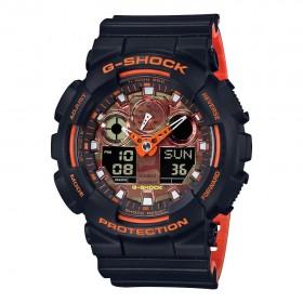 Мъжки часовник Casio G-Shock - GA-100BR-1AER