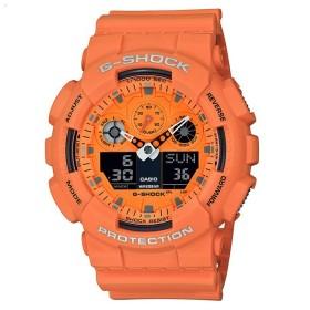 Мъжки часовник Casio G-Shock - GA-100RS-4AER