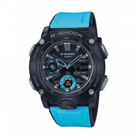 Мъжки часовник Casio G-Shock Carbon Core Guard Blue & Black - GA-2000-1A2ER