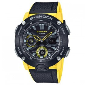 Мъжки часовник Casio G-Shock Carbon Core Guard Yellow & Black - GA-2000-1A9ER