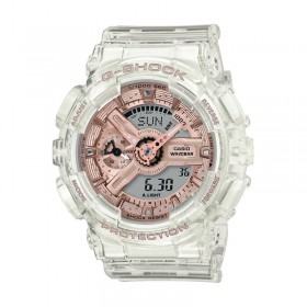 Дамски часовник Casio G-Shock Transparent Rose Gold - GMA-S110SR-7AER