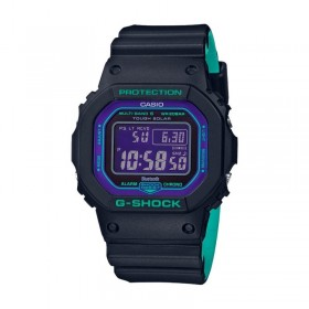 Мъжки часовник Casio G-Shock Blue and Purple Accent TOUGH SOLAR - GW-B5600BL-1ER