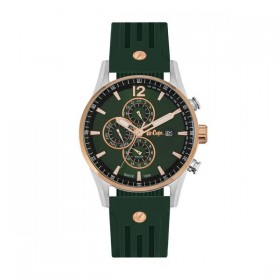 Мъжки часовник Lee Cooper Classic Dual Time - LC06419.375