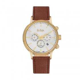 Мъжки часовник Lee Cooper Classic Dual Time - LC06429.132