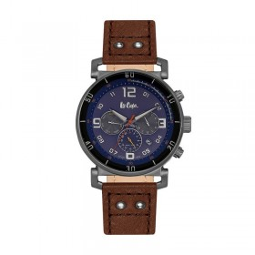 Мъжки часовник Lee Cooper Classic Dual Time - LC06450.092